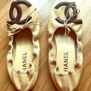 Chanel Cambon ballet flat